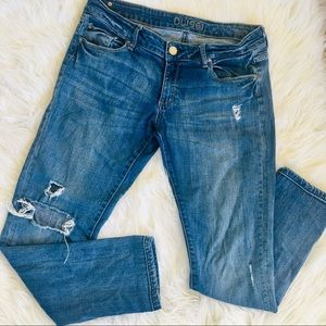 DL1961 Riley Boyfriend Distressed Jeans